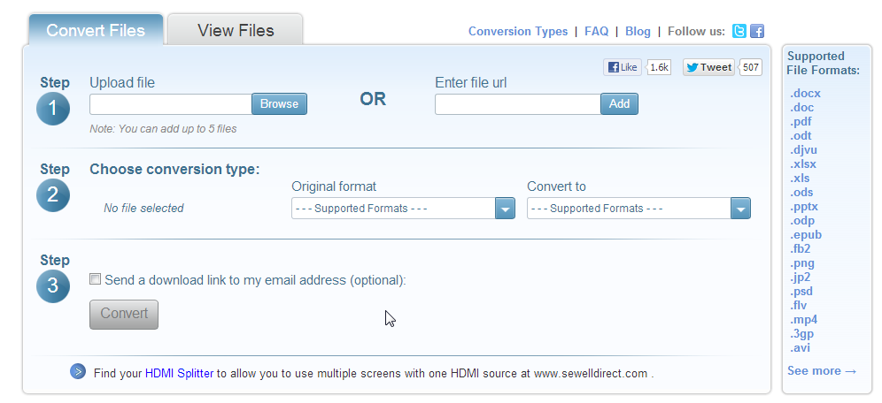 DocsPal - Free online file Converter and Viewer