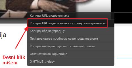 desni klik misem