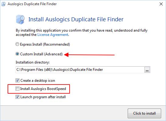 instalacija programa za brisanje duplih fajlova