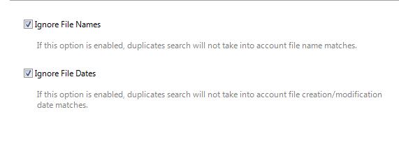 uzimati u obzir imena fajlova
