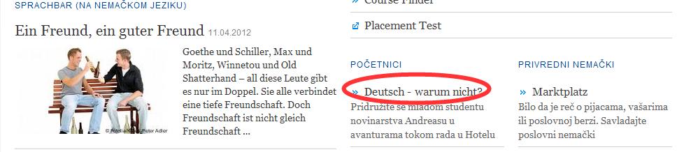 ... zu ucenje nemackog jezika preko interneta besplatno za pocetnike