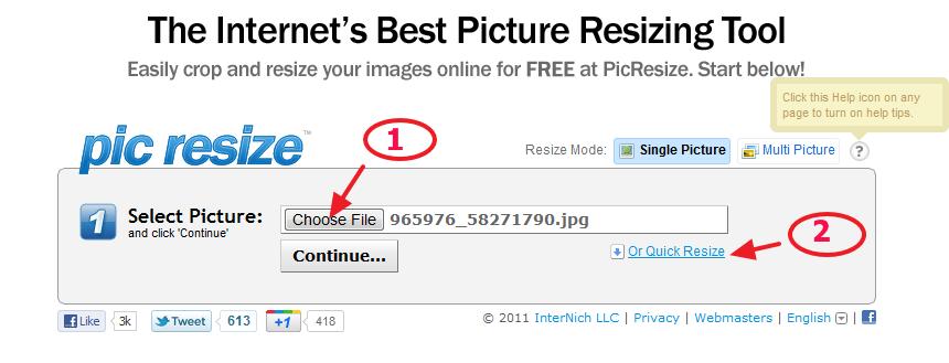 Kako da povećate, smanjite ili kropujete sliku online?