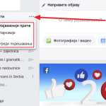 Kako da vam se prikazuju relevantne novosti na Fejsbuku?