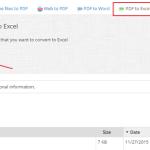 Kako da prebacite PDF tabelu u Excel?