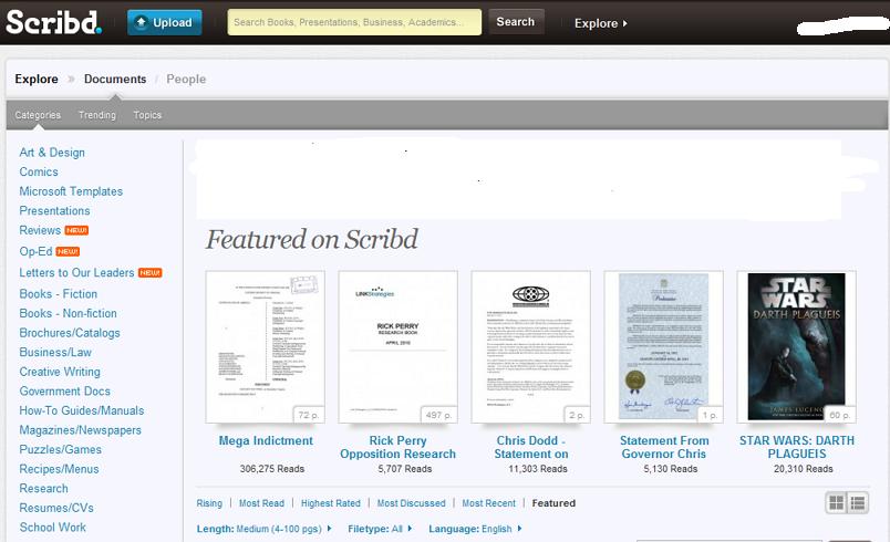 Saveti za korišćenje Scribd servisa za knjige