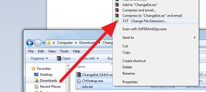 Kako da promenite ekstenziju u Windows-u na više fajlova istovremeno?