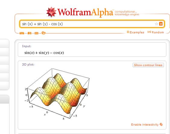 Analiza funkcija i rešavanje jednačina preko Interneta