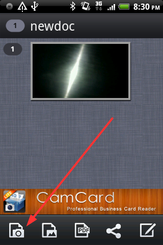 Pretvorite Android telefon u prenosivi skener pomoću CamScanner-a