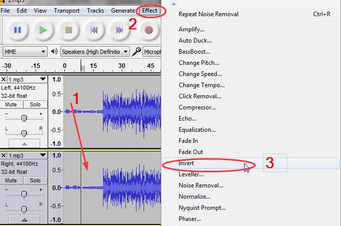 uklanjanje suma i buke iz snimka Audacity   Program za snimanje i obradu zvuka