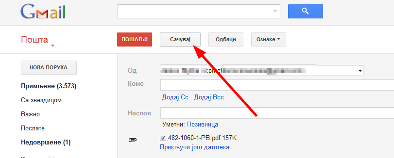 Kratki saveti za korišćenje Gmail-a. Koristite Gmail za čuvanje dokumenata, prosleđivanje pošte na drugi nalog. Linkovi za pristup mejlu u slučaju sporog Interneta.
