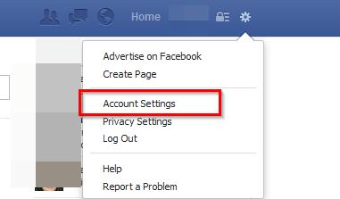 fejsbuk account settings podesavanja