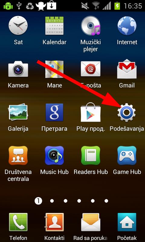podesavanja Kako da koristite svoj Android telefon kao Wireless Hotspot?