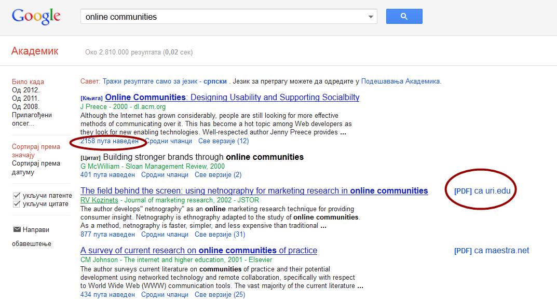 Najbolji sajtovi za pronalaženje stručnih i naučnih radova.