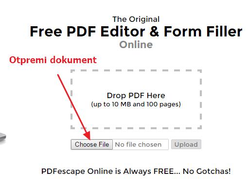 otpremi dokument