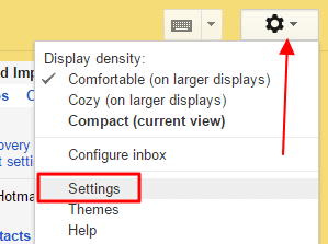 podesavanja gmail