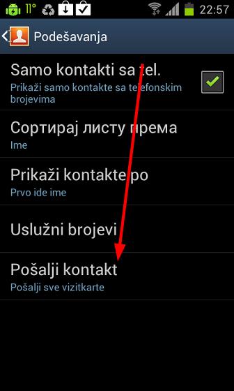 Greenshot 2012 10 11 23 27 22 Kako prebaciti kontakte sa jednog telefona na drugi?