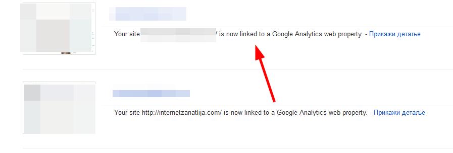 Kako povezati Gugl analitiku i alatke za vebmastere?