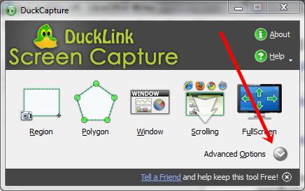 napredna podesaavanja duckcapture