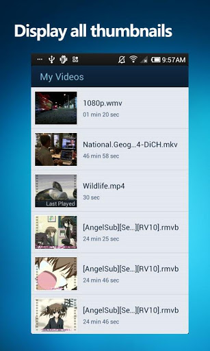 video plejer android