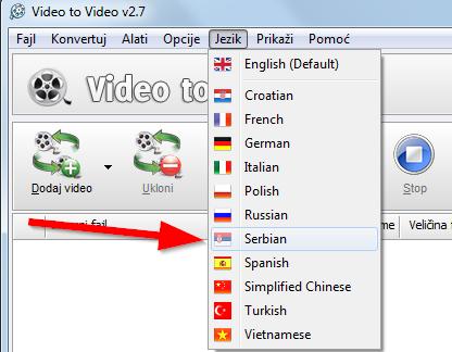 Video to Video srpski jezik