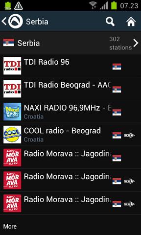 audials radio stanice