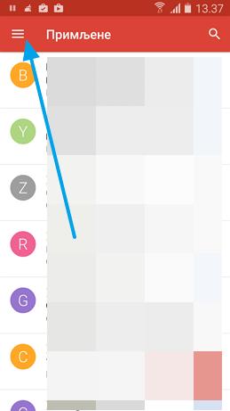 gmail android podesavanja