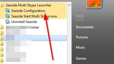 konfiguracioni ekran skajp