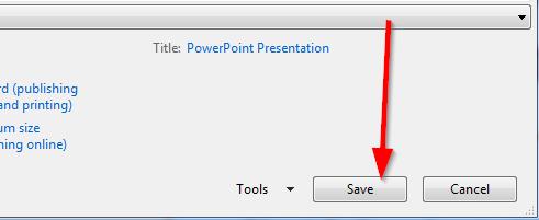 snimi pdf u powerpointu