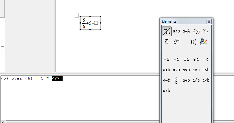 kucanje formula u librefisu