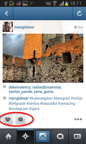 lajkovanja i komentarisanja instagram
