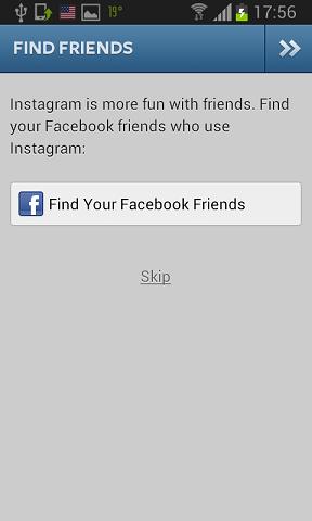 pronadji facebook prijatelja na instagramu