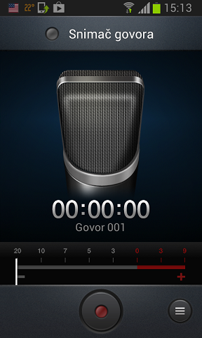 snimi govor android