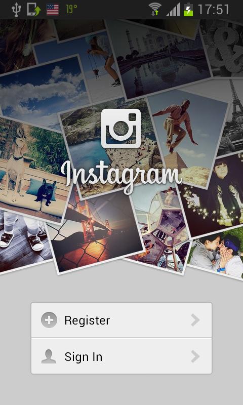 ulazak na instagram