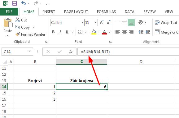 Rad sa formulama i funkcijama u Excelu