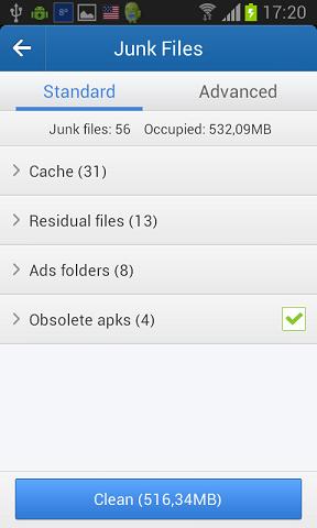 Clean Master – čišćenje nepotrebnih podataka sa Android uređaja