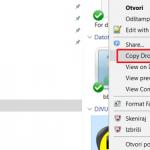 Uputstvo za deljenje i preuzimanje Dropbox fajlova i foldera