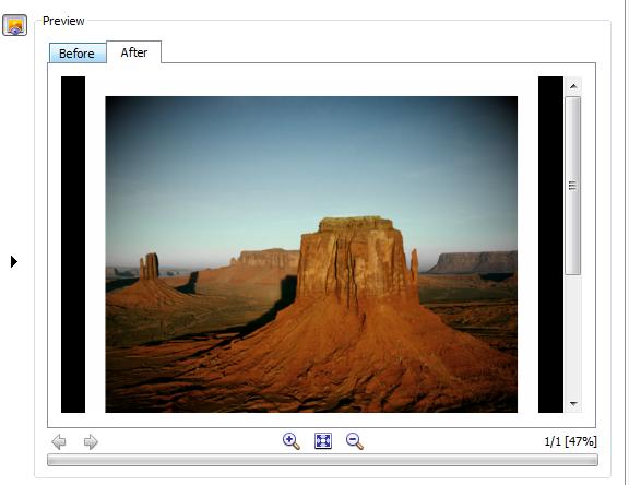 pre i posle obrade slika