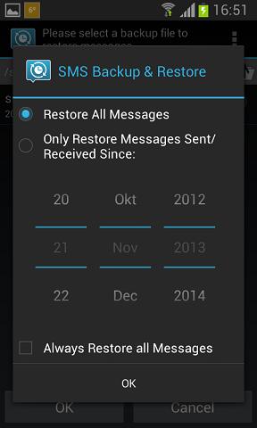 filtriranje poruka po datumu