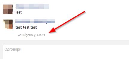 Kako da u Chrome-u isključite poruku Viđeno na Fejsbuku?