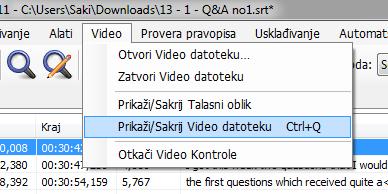prikazi video datoteku