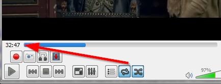 vreme pojavljivanja audio ili video snimka