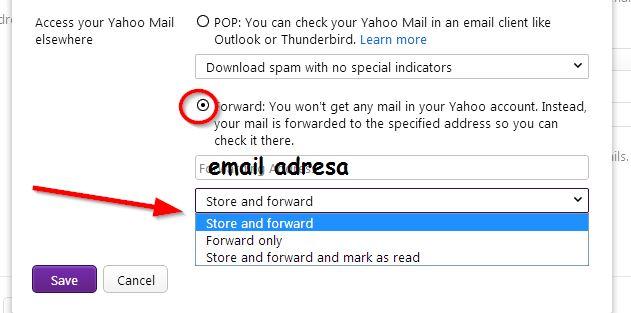 imejla adresa yahoo