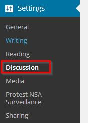 podesavanje diskusija na wordpressu