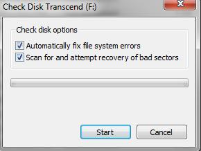 skeniranje diska na sadrzinu gresaka