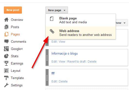 stranica kao veb adresa