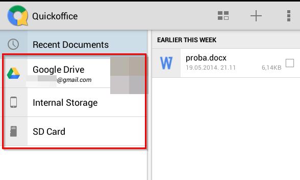 QuickOffice – besplatna verzija Office-a za Android telefone i tablete