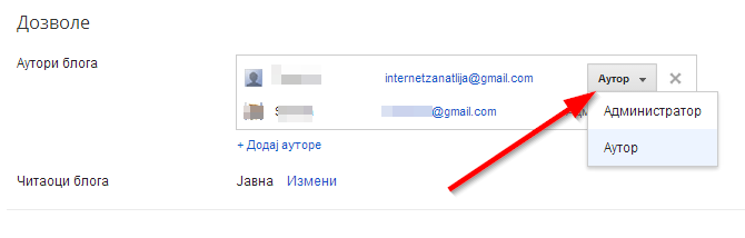 blog administrator