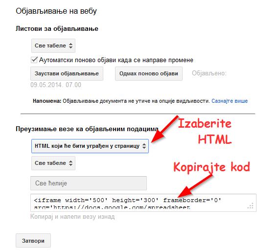 html kod gugl disk