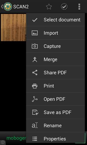 pdf skener