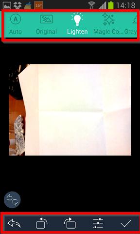 podesavanje osvetljenosti dokumenta